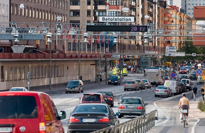 Dyrare trängselskatt i Stockholm